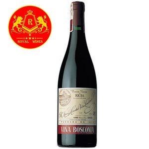 Rượu Vang Vina Bosconia Reserva Rioja
