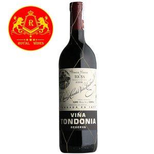 Rượu Vang Vina Tondonia Reserva Rioja