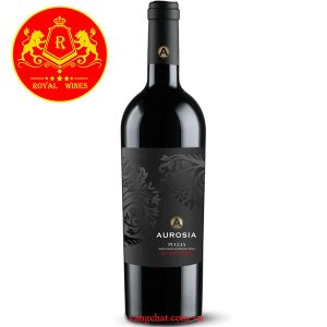 Rượu Vang Aurosia Puglia Negroamaro