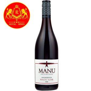 Rượu Vang Manu Marlborough Pinot Noir