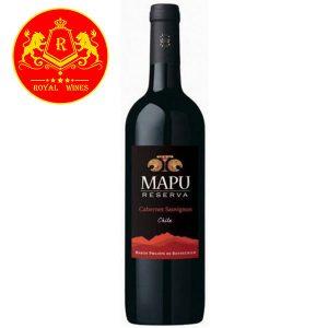 Rượu Vang Mapu Reserva Cabernet Sauvignon