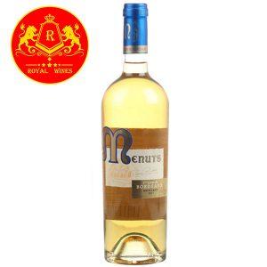 Rượu Vang Menuts Bordeaux Moelleux