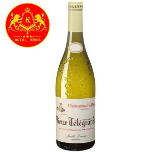 Rượu Vang Trang Chateauneuf Du Pape Vieux Telegraphe