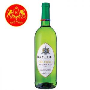ruou-vang-bayede-the-prince-sauvignon-blanc
