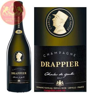 Ruou Champagne Drappier Cuvee Charles De Gaulle