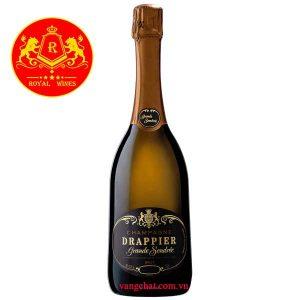 Ruou Champagne Drappier Grande Sendree