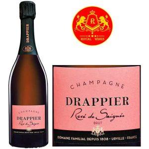 Ruou Champagne Drappier Rose De Saignee