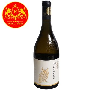 Rượu Vang Assyrtiko Alpha Estate Ecosystem