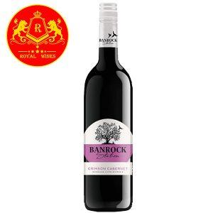 Rượu Vang Banrock Station Crimson Cabernet