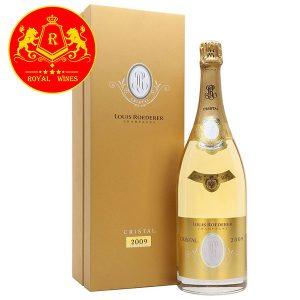Rượu Vang Champagne Louis Roederer Cristal