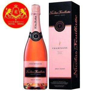 Rượu Vang Champagne Nicolas Feuillatte Brut Rose