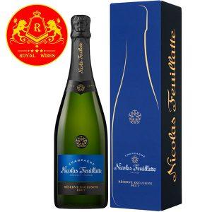 Rượu Vang Champagne Nicolas Feuillatte Reserve Exclusive
