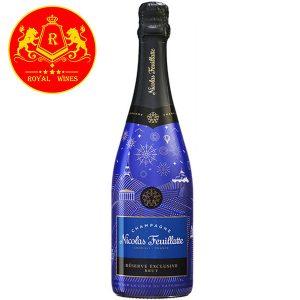 Rượu Vang Champagne Nicolas Feuillatte Reserve Exclusive Blue