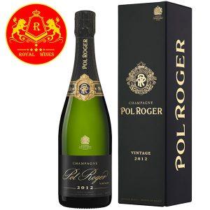Rượu Vang Champagne Pol Roger Brut Vintage