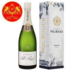 Rượu Vang Champagne Pol Roger Reserve Brut