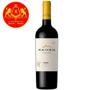 Rượu Vang Kaiken Reserva Malbec