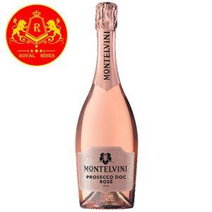 Rượu Vang Montelvini Prosecco Doc Rose