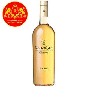 Rượu Vang Mouton Cadet Reserve Sauternes