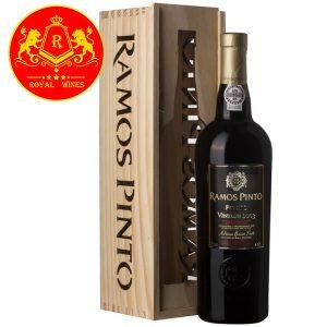 Rượu Vang Ramos Pinto Porto Vintage 2003
