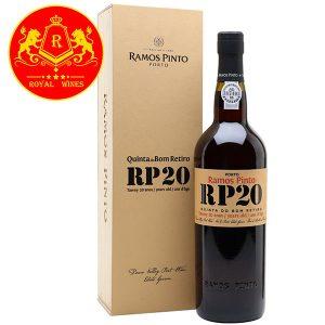 Rượu Vang Ramos Pinto Rp 20