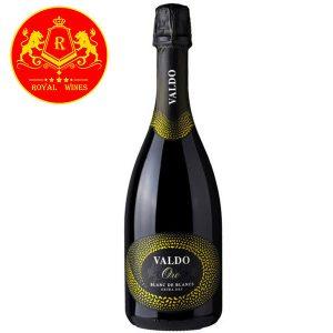Rượu Vang Valdo Oro Blanc De Blancs Extra Dry