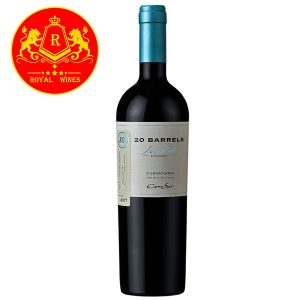 Rượu Vang 20 Barrels Limited Carmenere Cono Sur