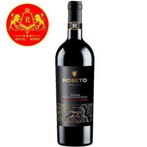 Rượu Vang Roseto Puglia Negroamaro