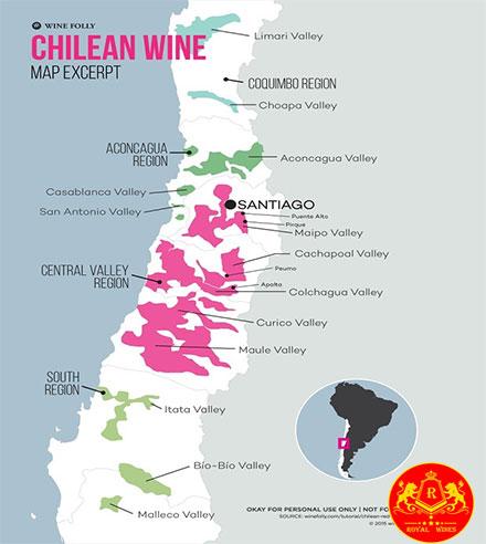 Vung Ruou Vang Chile